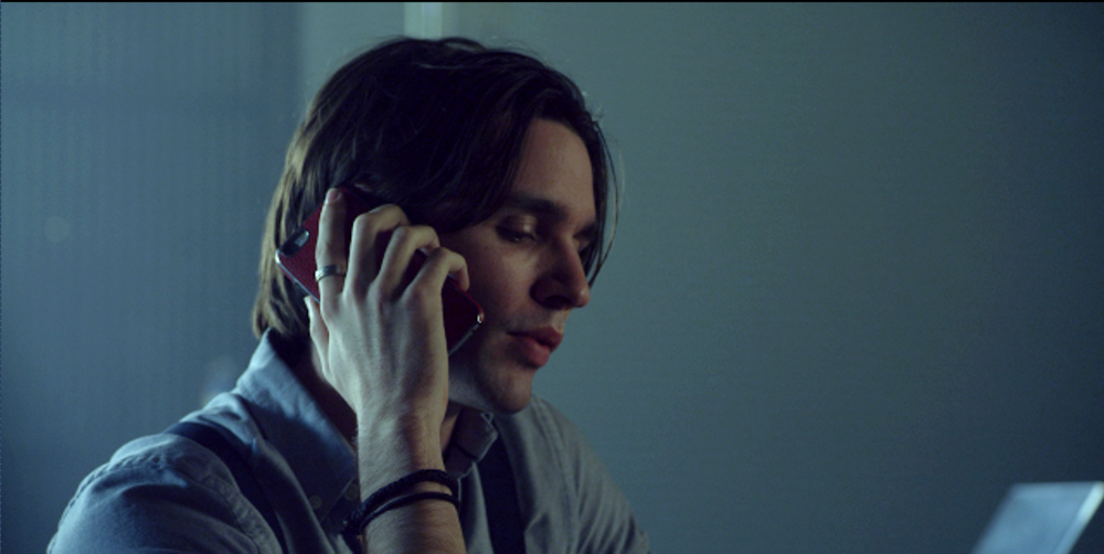 Jared (Vincent Cyr) calls in a favor.