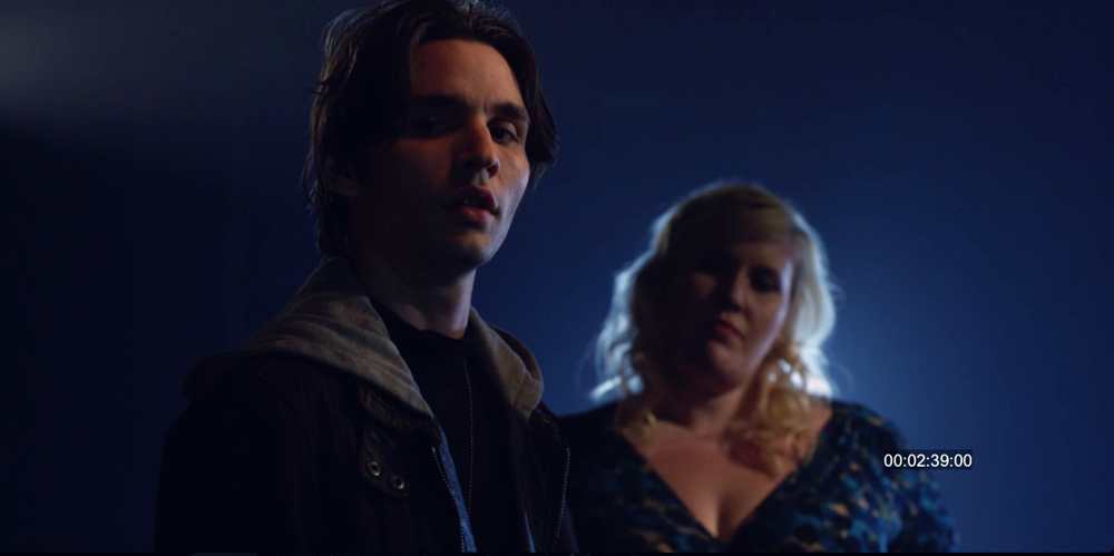 Vincent Cyr and Meghan Tonjes in Intricate Vengeance