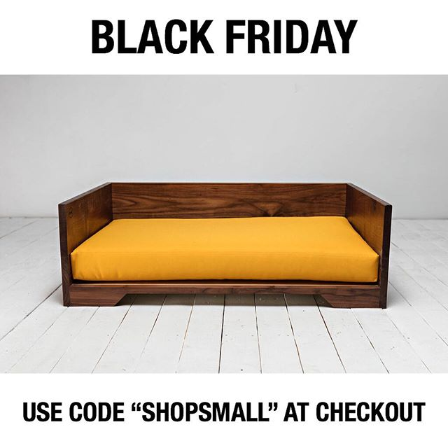 "Been looking at one of our handmade beds but haven't pulled the trigger? Now's your chance! - Now until Monday at 11:59pm you can use code ""SHOPSMALL"" at checkout for 15% off all orders on our site."