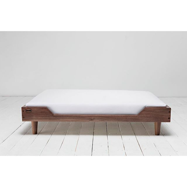 Looking to treat that special someone in your life? We've got you covered. - Our signature Winston bed comes in three sizes, three wood options, and a variety of fabric options.
