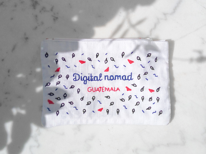 Trousse Digital nomad - DIY ©LaRobotte