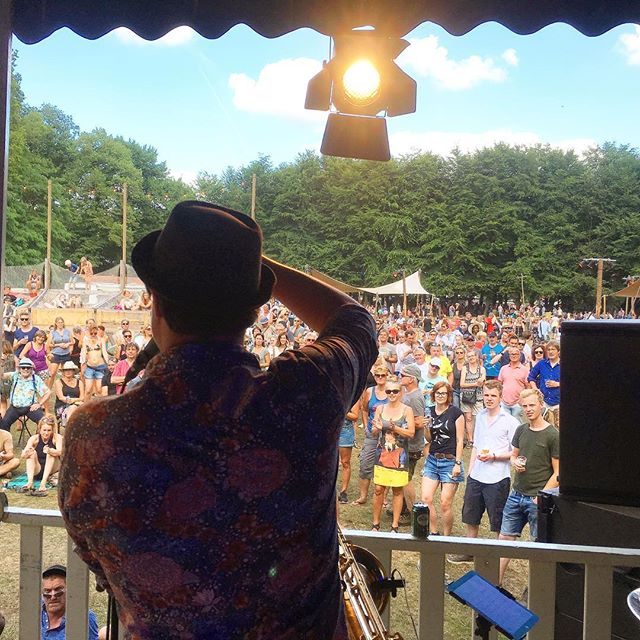 Thank you Mañana Mañana! We had a ball. 🔥🌳🎷🎺 #blackmango #festival #summer #herewego #eprelease #djirridjarra #horns @mananafestival