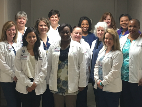 The Forsyth Connects team of nurses.