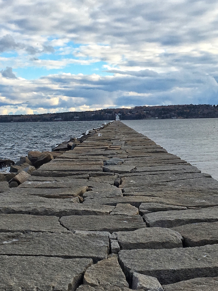 The  Rockland Breakwater Lighthouse