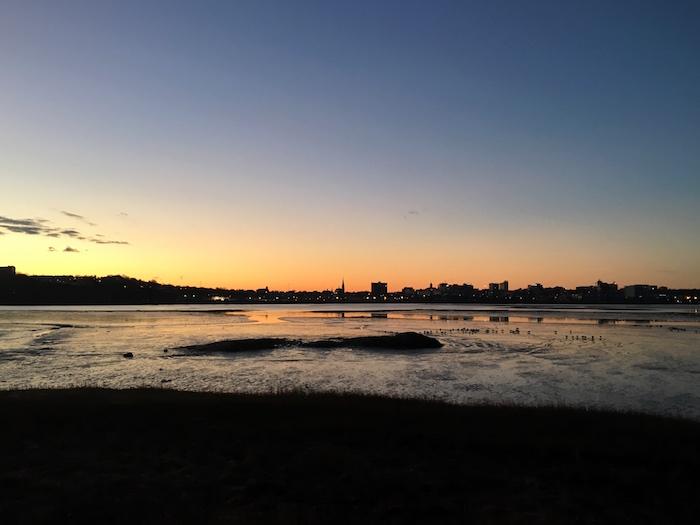 Sunrises that illuminate Portland's skyline