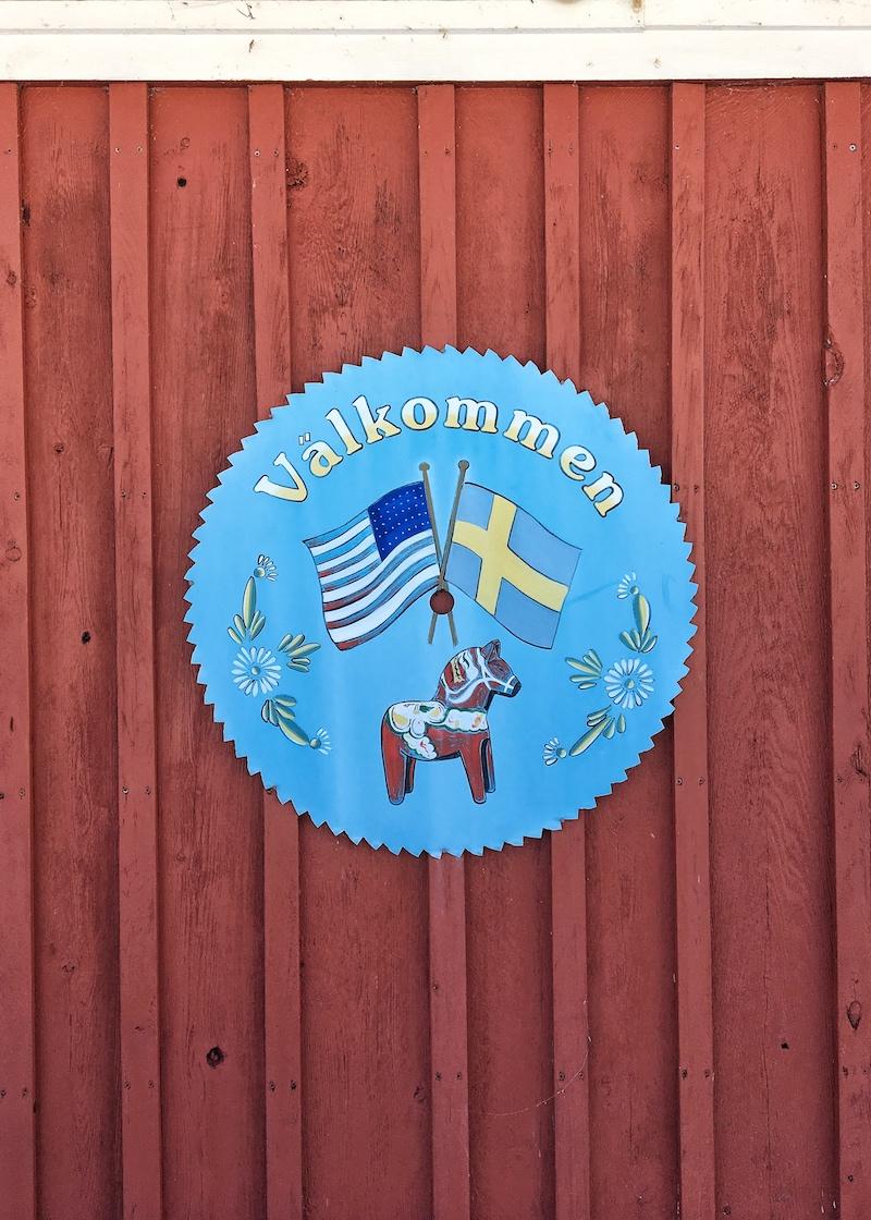 A Swedish welcome