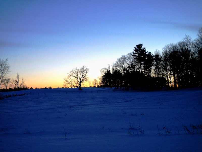 Winter adventures before the sun goes down