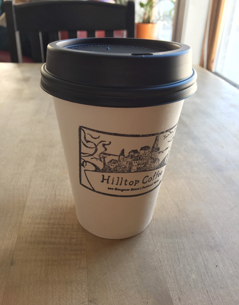 A new-to-me coffee shop that serves delicious Americanos
