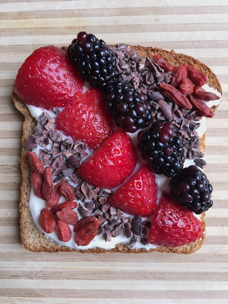 "A ""berry"" delicious combination to celebrate Toast Tuesday"