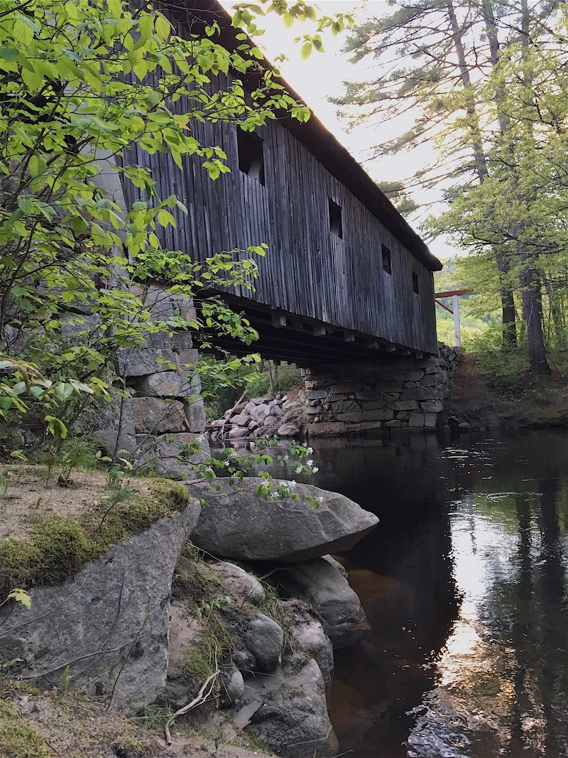 Finding covered bridges to explore