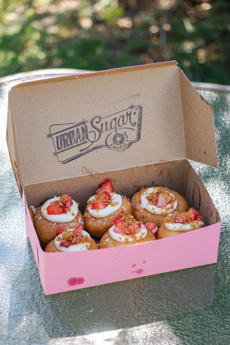 Urban Sugar  and their decadent bite-sized beauties