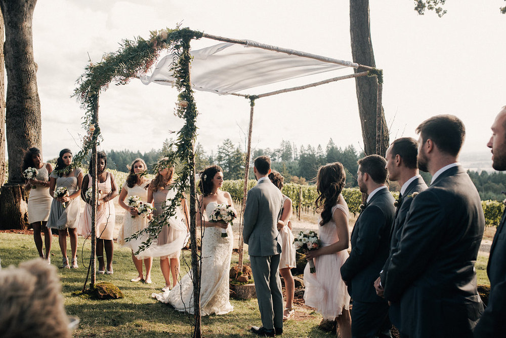 Bridalbliss.com | Willamette Valley Wedding | Oregon Wine Country Event Planning and Design | Christy Cassano Meyer Photography