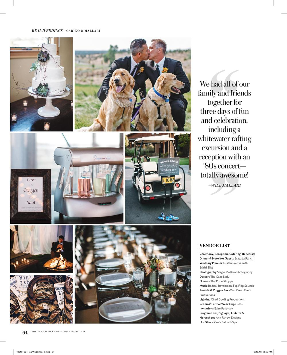 Bridalbliss.com | Bend Wedding Planner | Central Oregon Oregon Event Design | Sergio Mottola Photography