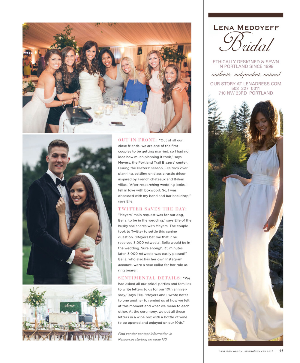 Bridalbliss.com | Portland Celebrity Wedding Planner