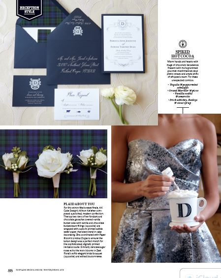 Bridalbliss.com | Portland Bend Seattle Wedding Planning | Oregon Washington Event Design