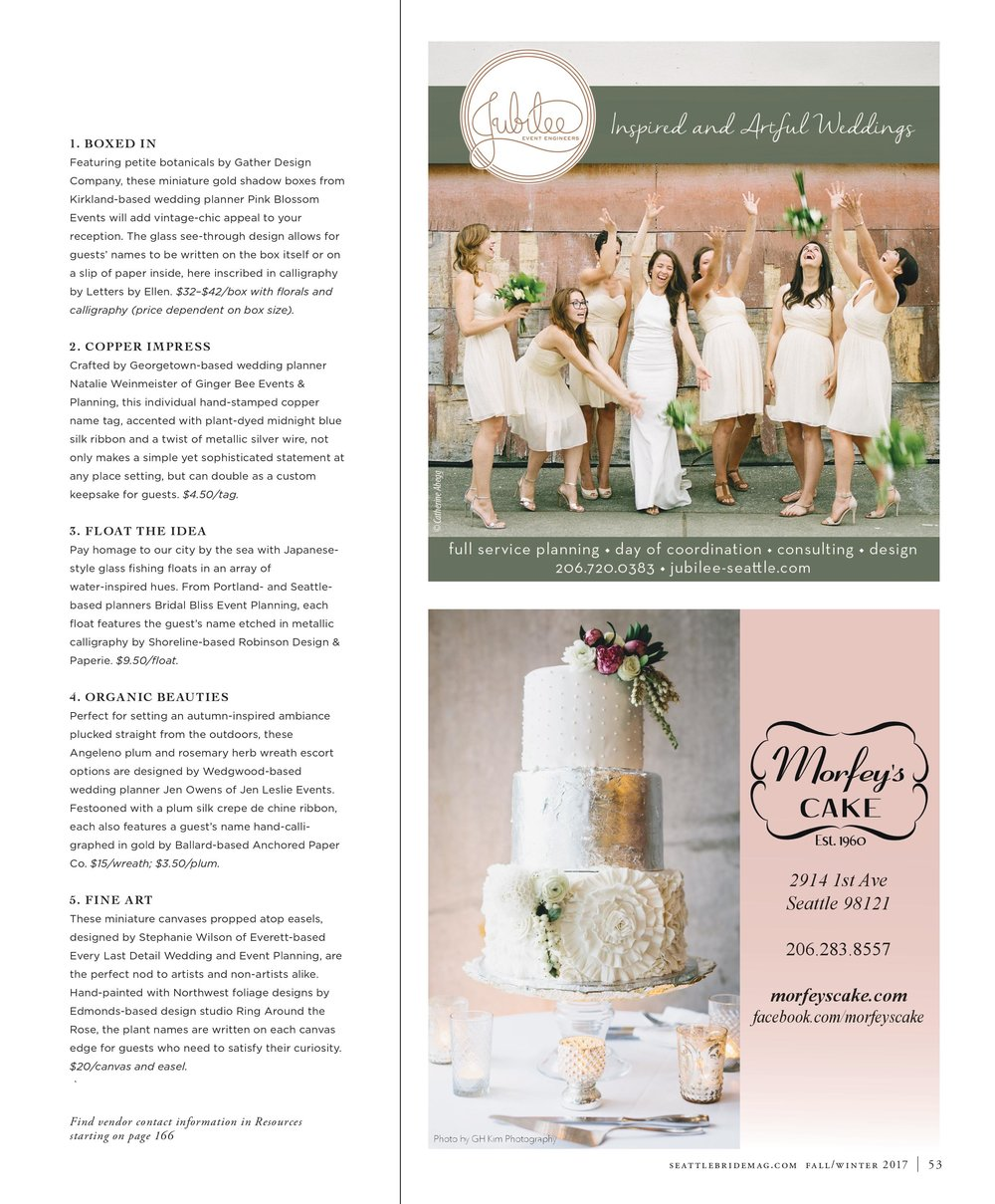 Bridalbliss.com | Seattle Wedding Planner | Washington Event Design