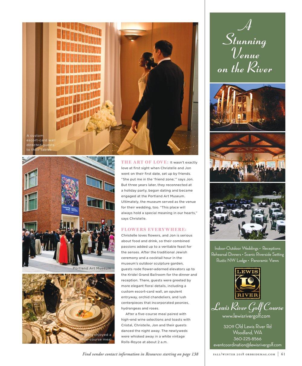 Bridalbliss.com | Portland Wedding Planner | Oregon Event Design | Mosca Studio