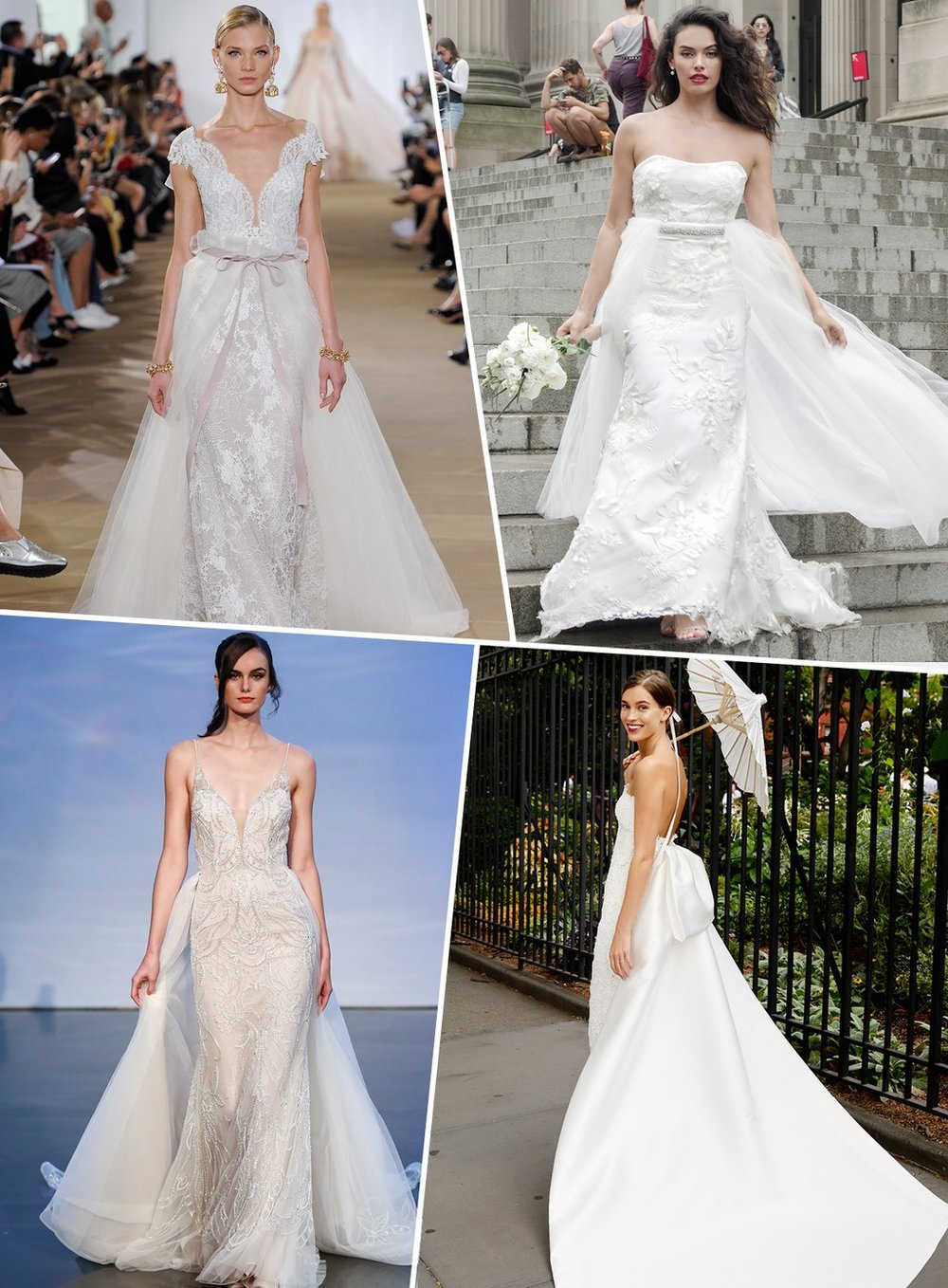 Bridalbliss.com | Bridalbliss.com | 2019 Wedding Gown Trends | Martha Stewart Weddings