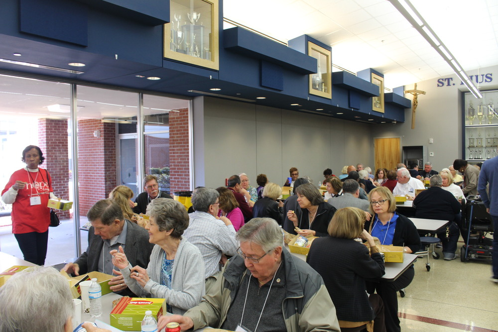 Attendees enjoyed structured networking sessions during lunch