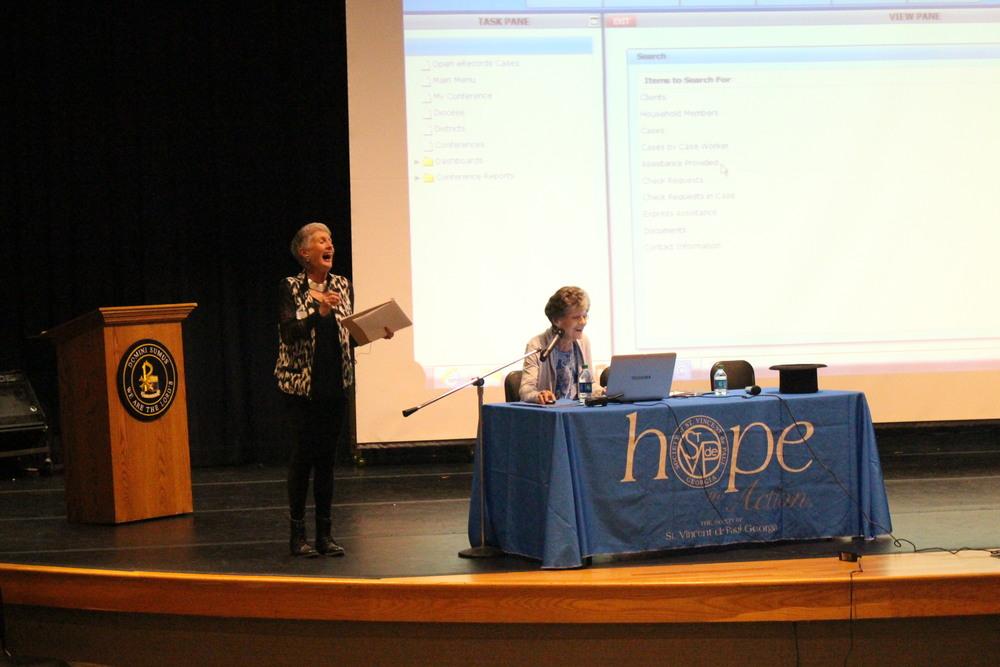 Janice Sigurdson and Peg Bacik answer questions about CMS Case Management