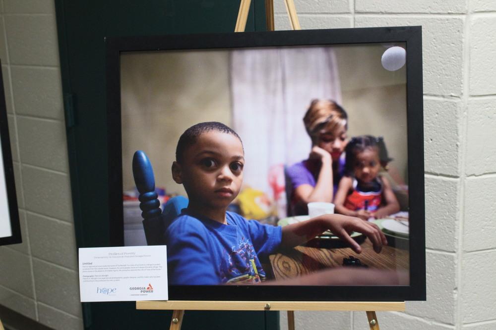 Profiles of Poverty Exhibit on display