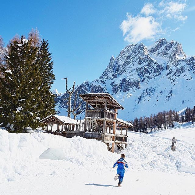 """Everybody needs beauty as well as bread, places to play in and pray in, where Nature may heal and cheer and give strength to body and soul alike."" ~ John Muir // @franzonimary explored the beauty in South Tyrol, a province in northern Italy, surrounded by the Dolomites. ----  Tag your best #familytravel pictures with #familyjaunts for a chance to be featured.  #getoutside #goadventure #liveauthentic #travelingfamily #ontheroad #exploreeverything #instatravel #littleexplorers #wanderlusting #travelgram #welltravelledkids #littleandbrave #kidstravel #familyadventure #showthemtheworld  #travelwithkids  #neverstopexploring #mountainjaunt #italywithkids"