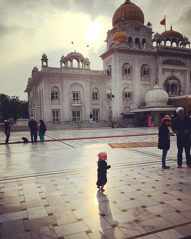 """This I believe: that the free, exploring mind of the individual human is the most valuable thing in the world."" ~ John Steinbeck // @backpack_baby explored the beautiful grounds of Gurudwara Bangla Sahib in Dehli, India. ----  Tag your best #familytravel pictures with #familyjaunts for a chance to be featured.  #getoutside #goadventure #liveauthentic #travelingfamily #ontheroad #exploreeverything #instatravel #littleexplorers #wanderlusting #travelgram #welltravelledkids #littleandbrave #kidstravel #familyadventure #showthemtheworld  #travelwithkids  #neverstopexploring #historyjaunt #culturejaunt"