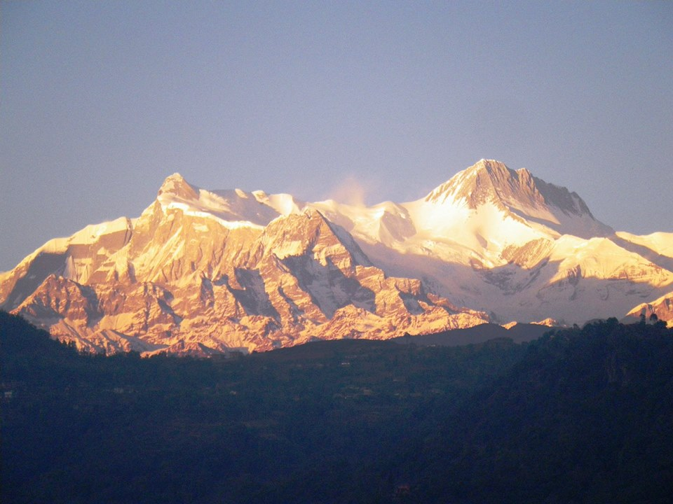 Pop Up Dinner Party in Nepal: Sunrise at the Himalayas