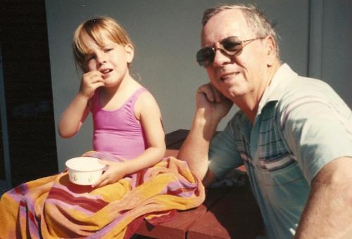 Lindsay Harper & Her Grandpa Fromo