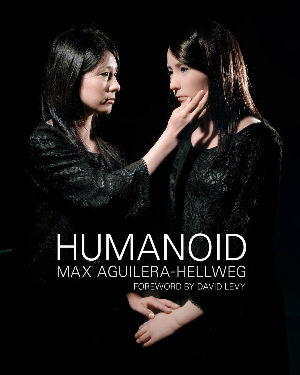 cover of humanoid, book of portraits of androids and humanoids, available on amazon