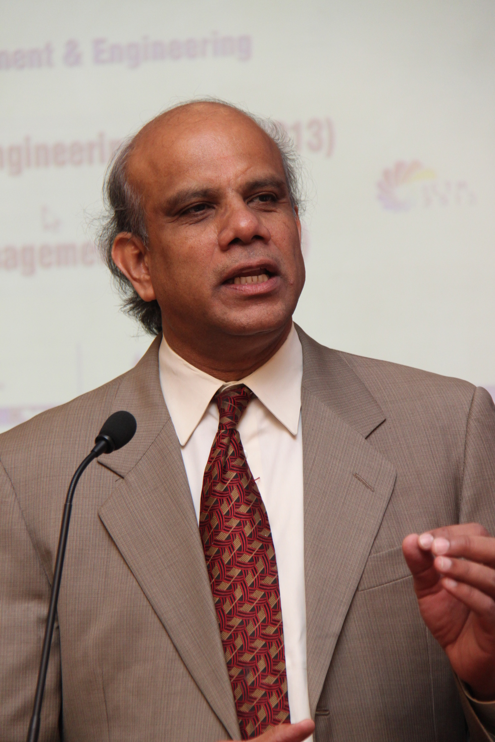 Dr. Gurumurthy Kalyanaram addressing a conference.JPG