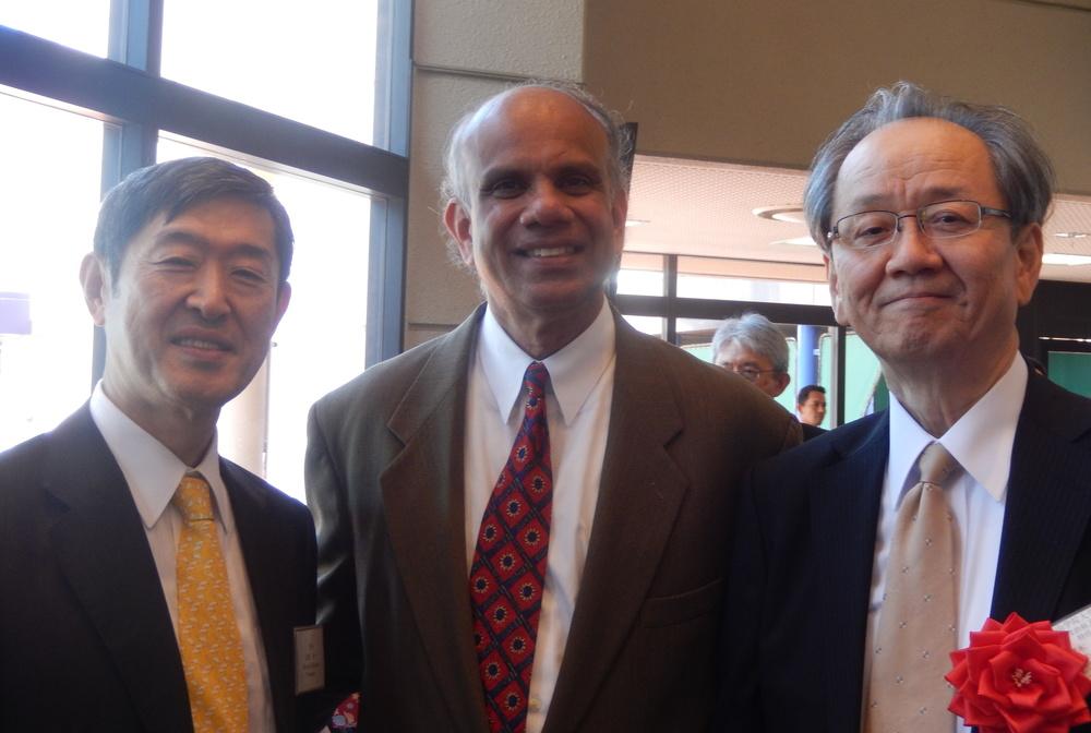 Dr. Gurrumurthy Kalyanaram with Ambassdoar Kitaoka and Professor Inoki.JPG