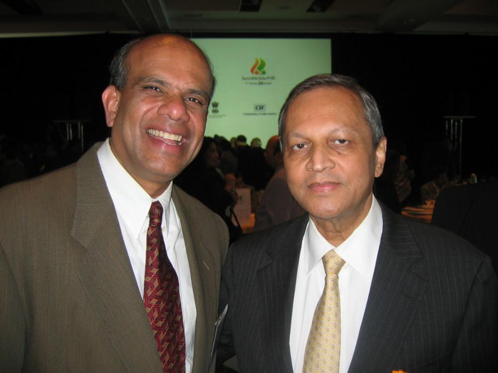 Dr. Gurumurthy Kalyanaram with  Ambassador Ronen Sen.JPG