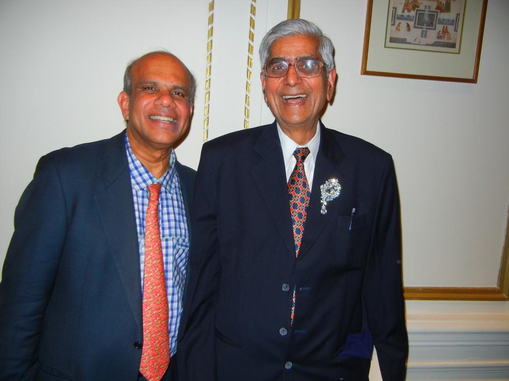 Dr. Gurumurthy Kalyanaram with D.R. Mehta.JPG