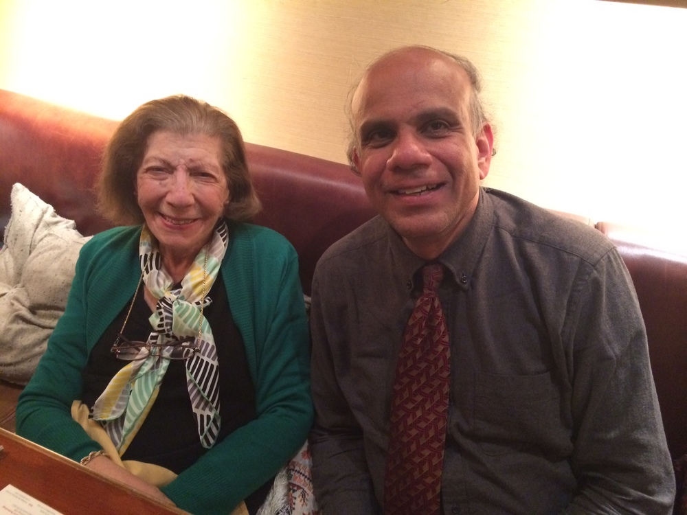 Dr. Gurumurthy Kalyanaram with Dr.  Salma Jayyusi.JPG