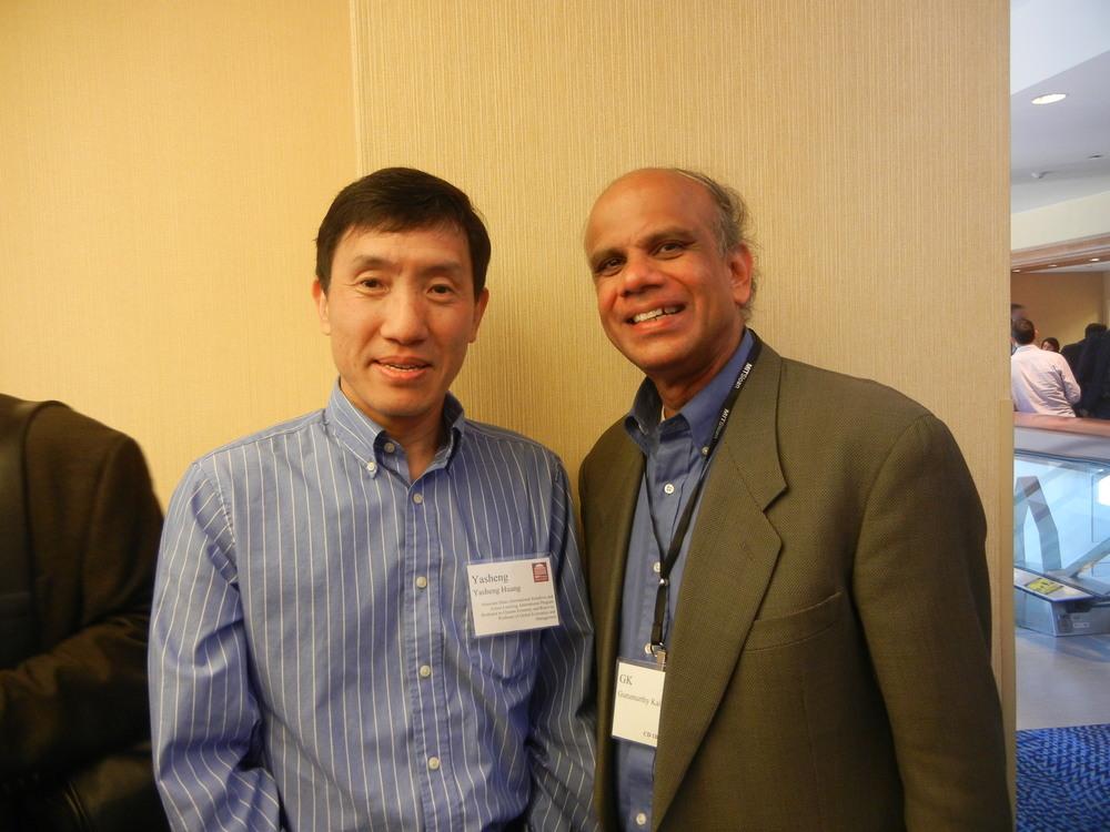 Dr. Gurumurthy Kalyanaram with MIT Professor Yasheng Huang.JPG