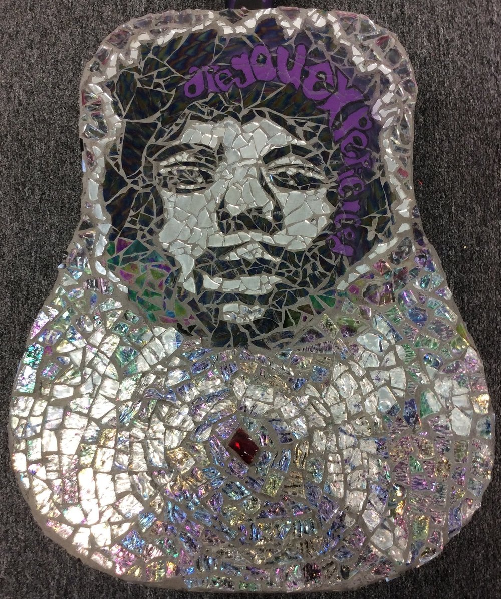 Mosaics are a symbol to me... - of taking the broken and making something beautiful!
