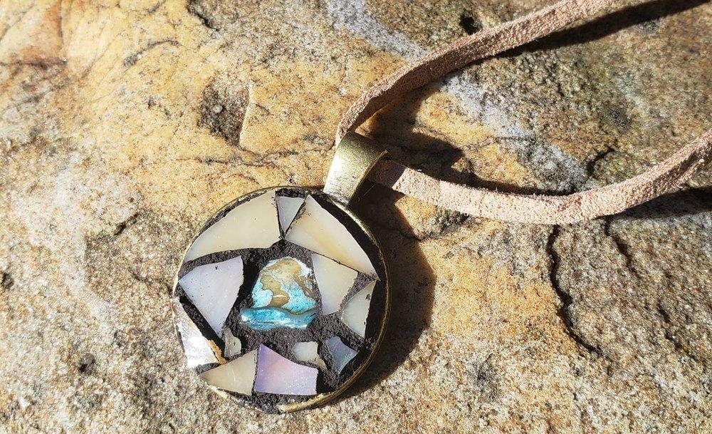 Custom Mosaic Jewelry -
