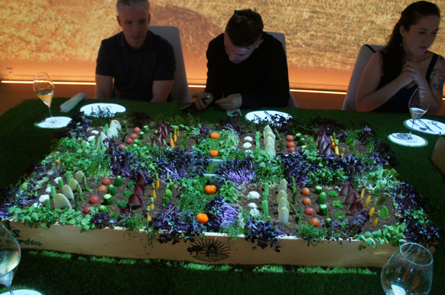 Edible garden at Sublimotion, Ibiza