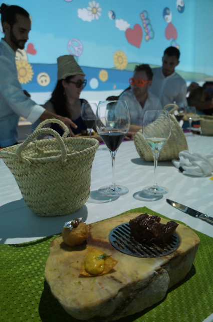 BBQ experience at Sublimotion, Ibiza