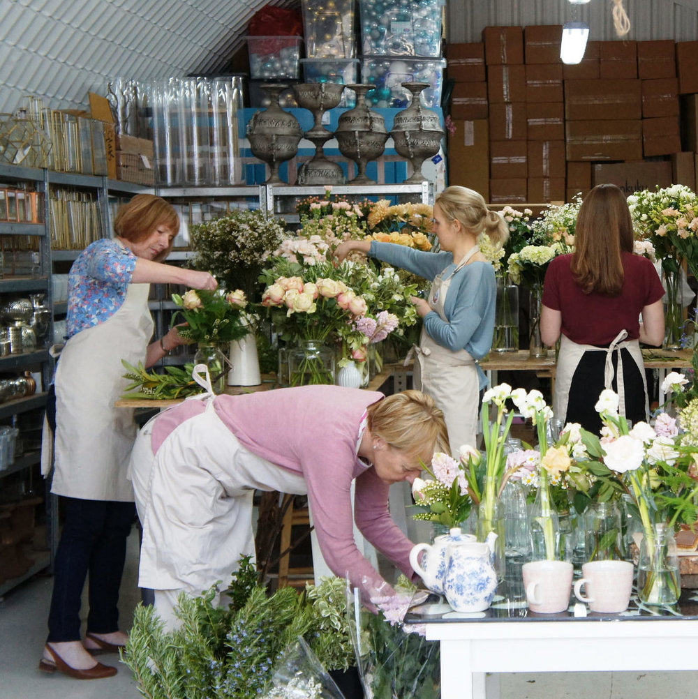 Making own wedding flowers in Glasgow