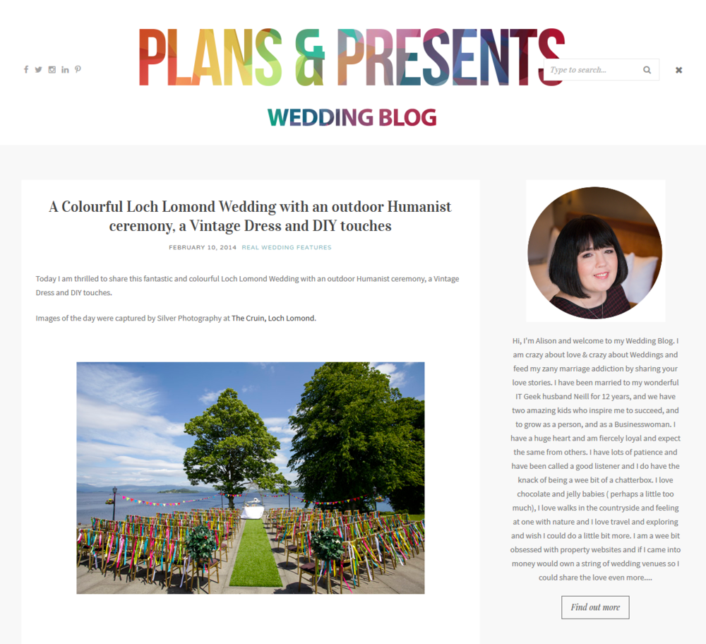 Little Botanica flowers on Plans & Presents Wedding Blog