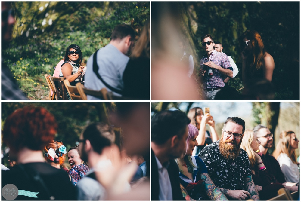 secret-wedding-ceremony-photography -snap-festival-boho-chic-vintage-wales-fforest-shabby-chic