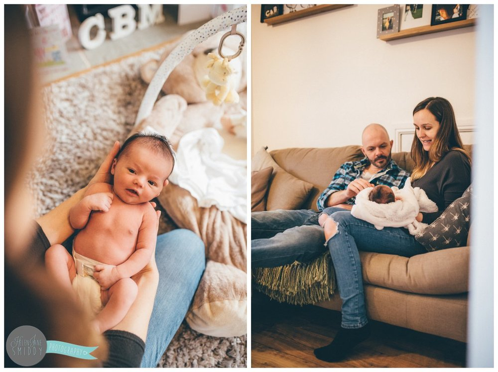 Family photoshoot in their home in Frodsham, Cheshire.