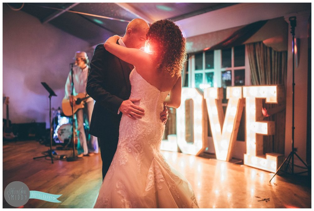 Dom and Lyssa share a beautiful First Dance at Mere Court Hotel in Knutsford.