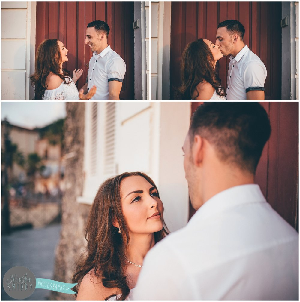 Engagement photoshoot in Santa Maria Di Castellabate, Italy.