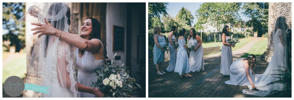 Frodsham wedding photographer shoots wedding in Norfolk.