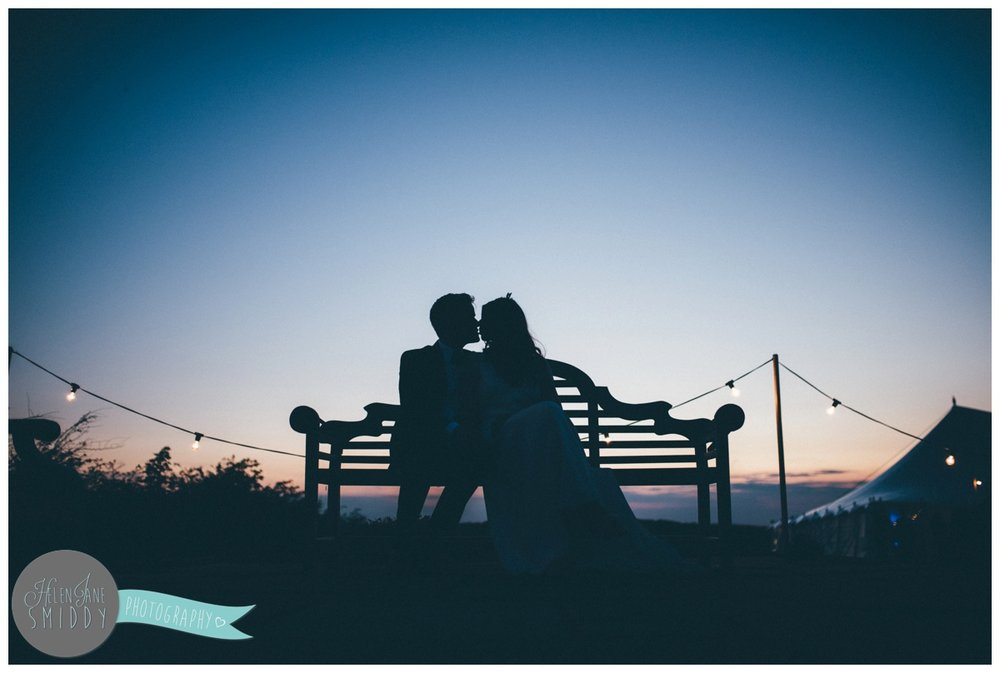 Stunning sunset photographs at Barn Drift wedding in Norfolk.