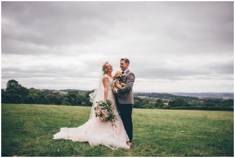 Tipi wedding in Staffordshire by Cheshire wedding photographer.