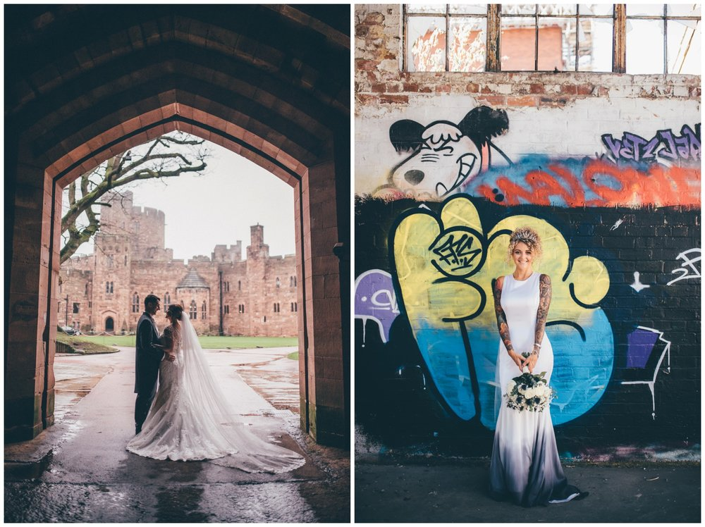 Peckforton Castle and Oddfellows in Cheshire.